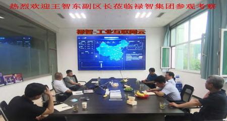 天津市宝坻区副区长莅临禄智集团参观考察